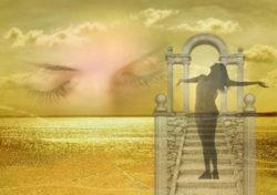 Körper, Geist und Seele -Traum-augen-himmel-dreams