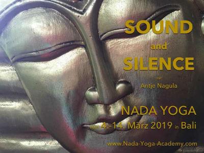 """Basisseminar """"Nada Yoga"""" - SOUND AND SILENCE - mit Antje Nagula"""