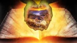 Seele und die Naturwissenschaft-buch-haende-mystik-licht-earth
