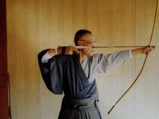 kyudo-japanisches-bogenschiessen-professor-inagaki-genshiro-kyudo