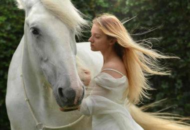 Herzensverbindung-Tier-Tierkommunikation-frau-pferd-girl