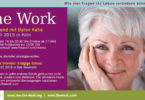 the work-Byron Katie -live in Koeln-Juli 2019