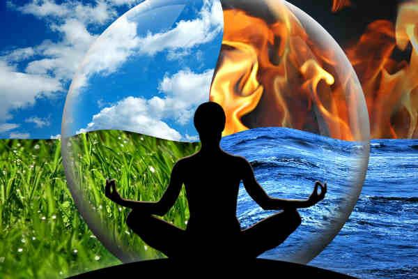 harmonisierung der 4 Elemente