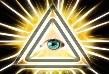 Auge-Dreieck-Strahlen-Wahrheit-Leben-neuen-Bewussstsein-eye