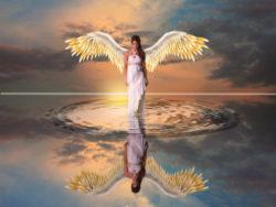 Lebensplan-erkennen-Engelbotschaften-August2019-Engel-spiegelung-water