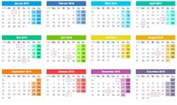 kalender-Blatt