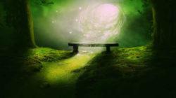 Bannsprüche und Flüche Schwingung bank wurmloch wald energie galaxy