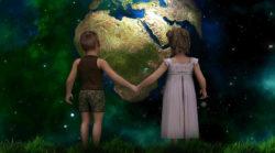 Spiritualitaet-kultureller-Wandel-neue-Zeit-Weltkugel-children