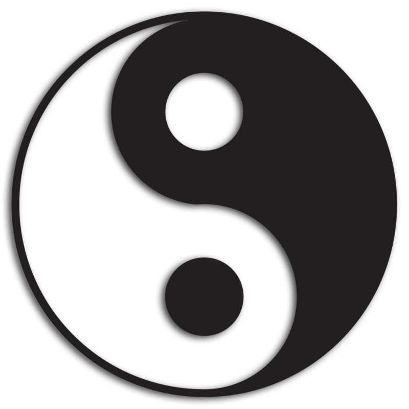 Yin-und-Yang-Tao-Symbol-Polaritaet-Martin-Heinz