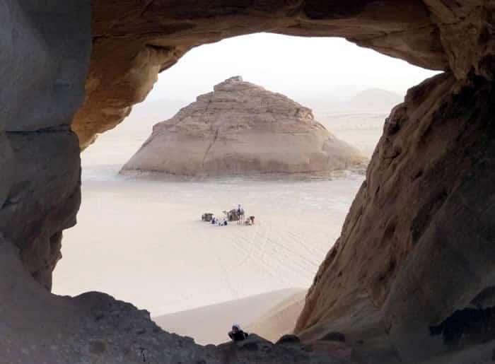 Tor-Hoehle-Limberger-Sinai-Reise
