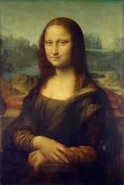 Lächeln-mona-lisa