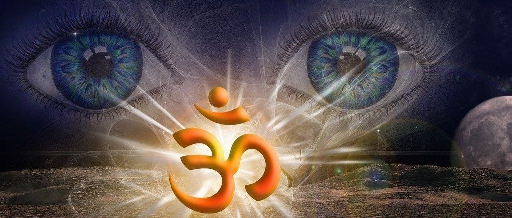 Corona Pandemie-spirituell-augen-om-background