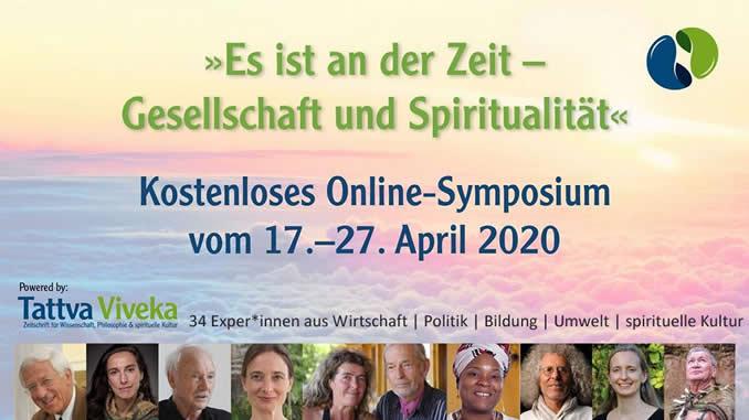Unsere WeGesellschaft und Spiritualität-Tattva-Viveka-Symposium-Banner