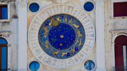 Glücksformel-Sternzeichen-Uhr