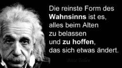 Corona Zeitalter-Einstein-Wahnsinn