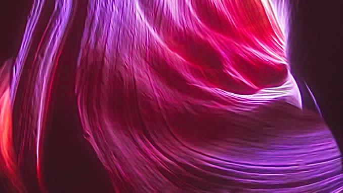 Wellen-Pink-Neon-Lights
