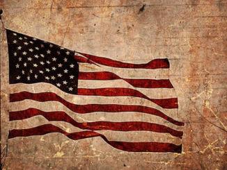 Amerika-Flagge-alt-american-flag