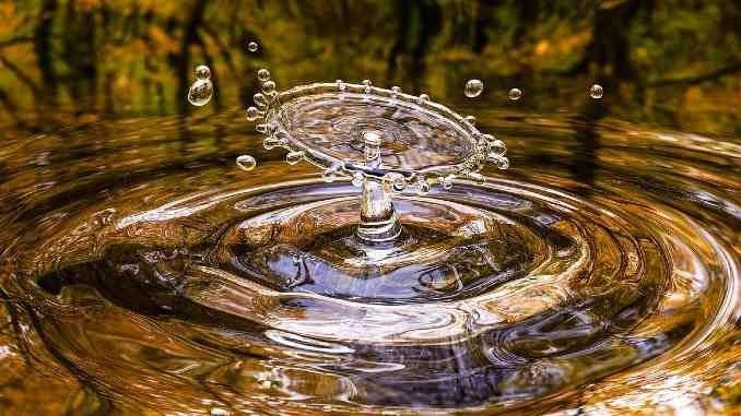 Wasser-Bewegung-Herbst-drop