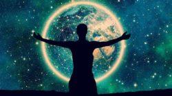 fundamentaler Sinn sternen himmel welt