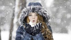 Frau-Schnee-gesicht-winter