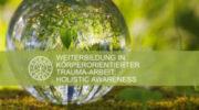 Trauma-Aurum-Cordis-glas-kugel-gras-erde-ball