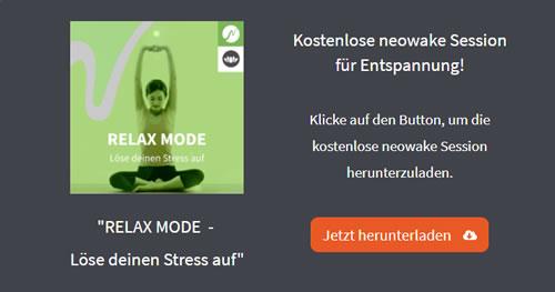 neowake-relax-mode-stress