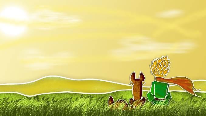 natur-mensch-hund-illustration-the-little-prince