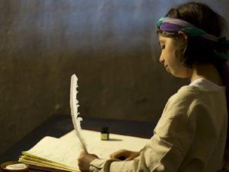 schreiben-maedchen-middle-ages
