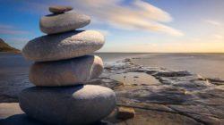 Gibt es ein spirituelles Bedürfnis steine natur meer feng shui