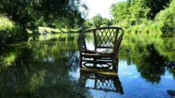 Klosterauszeit auszeit stuhl wasser chair