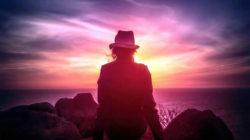 neu programmieren frau Sonnenuntergang Woman Watching the Sunset