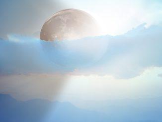 himmel strahlen eclipse