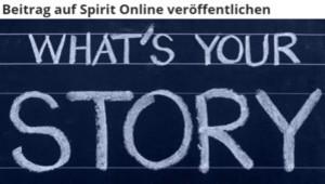 Autor werden bei Spirit Online und schreiben über Gesellschaft und Transformation