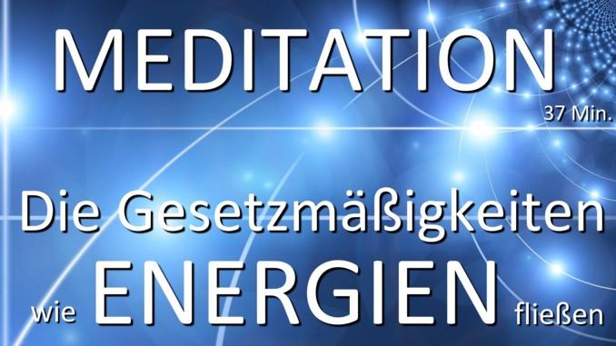 Meditation Energie fließt