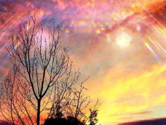 gott himmel licht sky