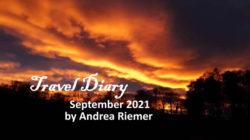 Andrea Riemer Travel Diary September 2021