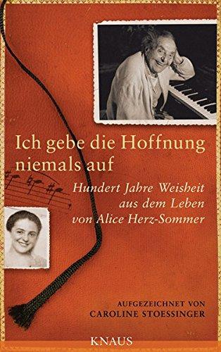 cover Alice Herz-Sommer